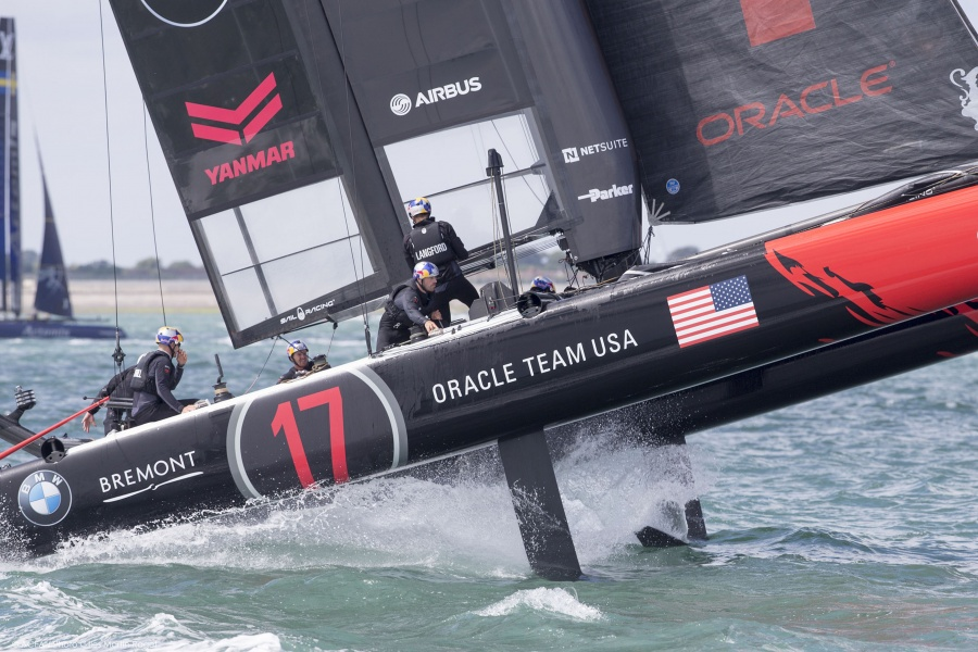 23/07/2015, Portsmouth (GBR), 35th America's Cup, Louis Vuitton America's Cup World Series Portsmouth 2015, Official training