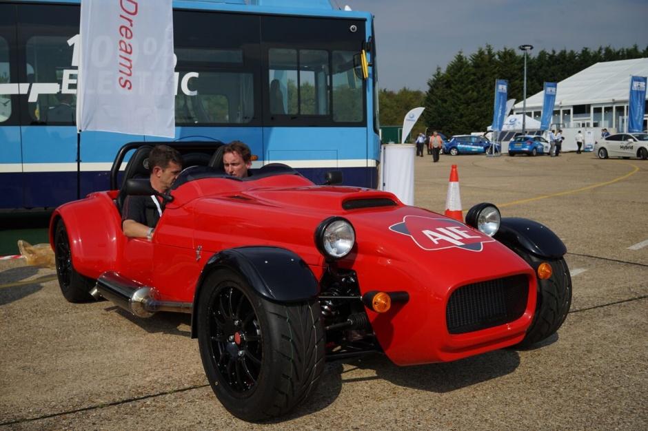 Rotary Engine-powered British sports car makes debut at