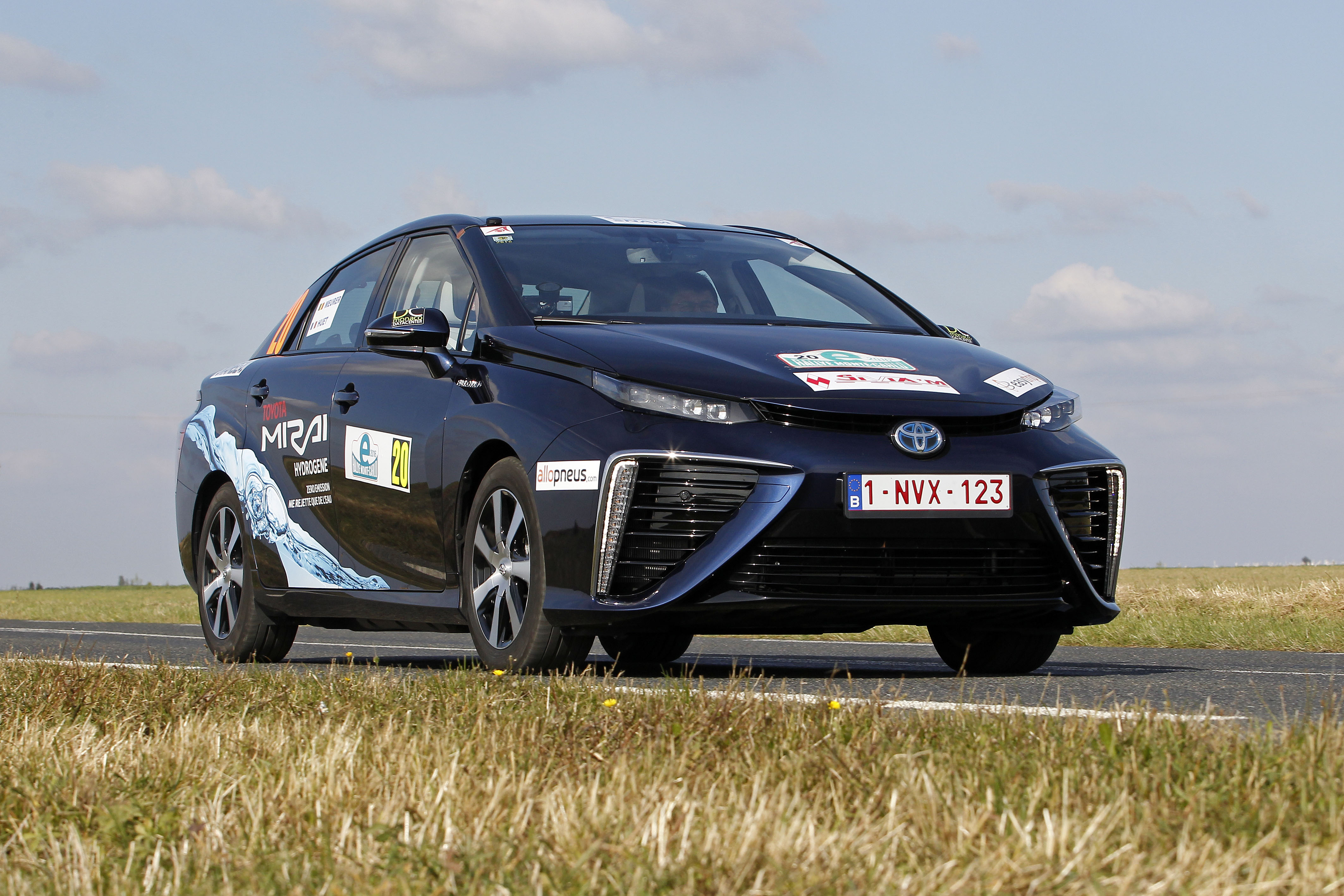 Hydrogen-powered Toyota wins Monte Carlo e-rally | The