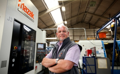 Truturn Precision Engineering in Stroud pictured for a MAZAK case study feature.  Picture by Shaun Fellows / Shine Pix