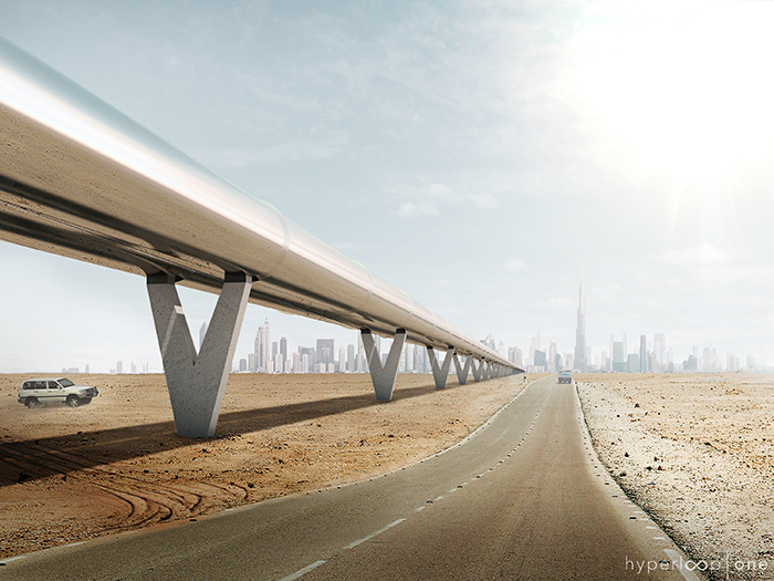 Hyperloop One Partners Up with Dubai