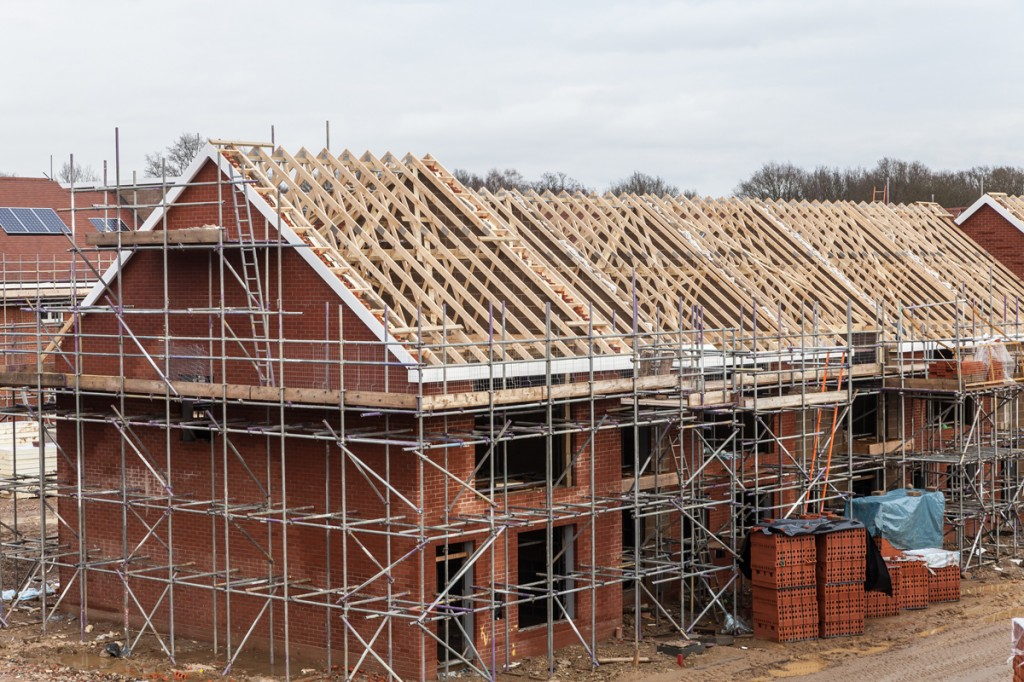 How have the manufacturing and construction sectors been for Building a new home
