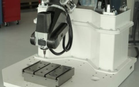 The machine tool uses parallelkinematics rather than the more common serial link