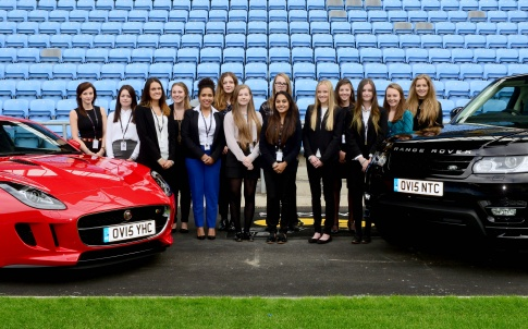 young-women-in-the-know-course-celebrate-the-start-of-their-jlr-apprenticeships