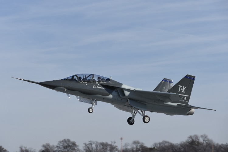 Boeing/Saab T-X contender completes first flight