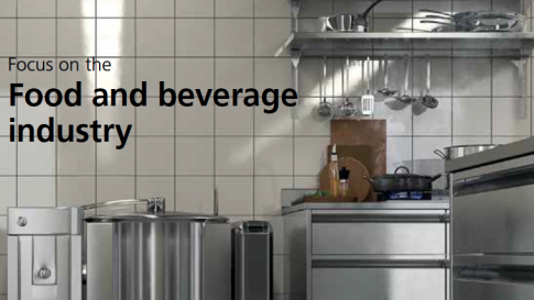Electric actuators for the food and beverage industry
