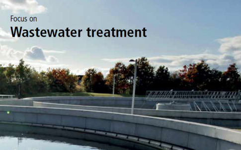 Linear actuators for wastewater treatment