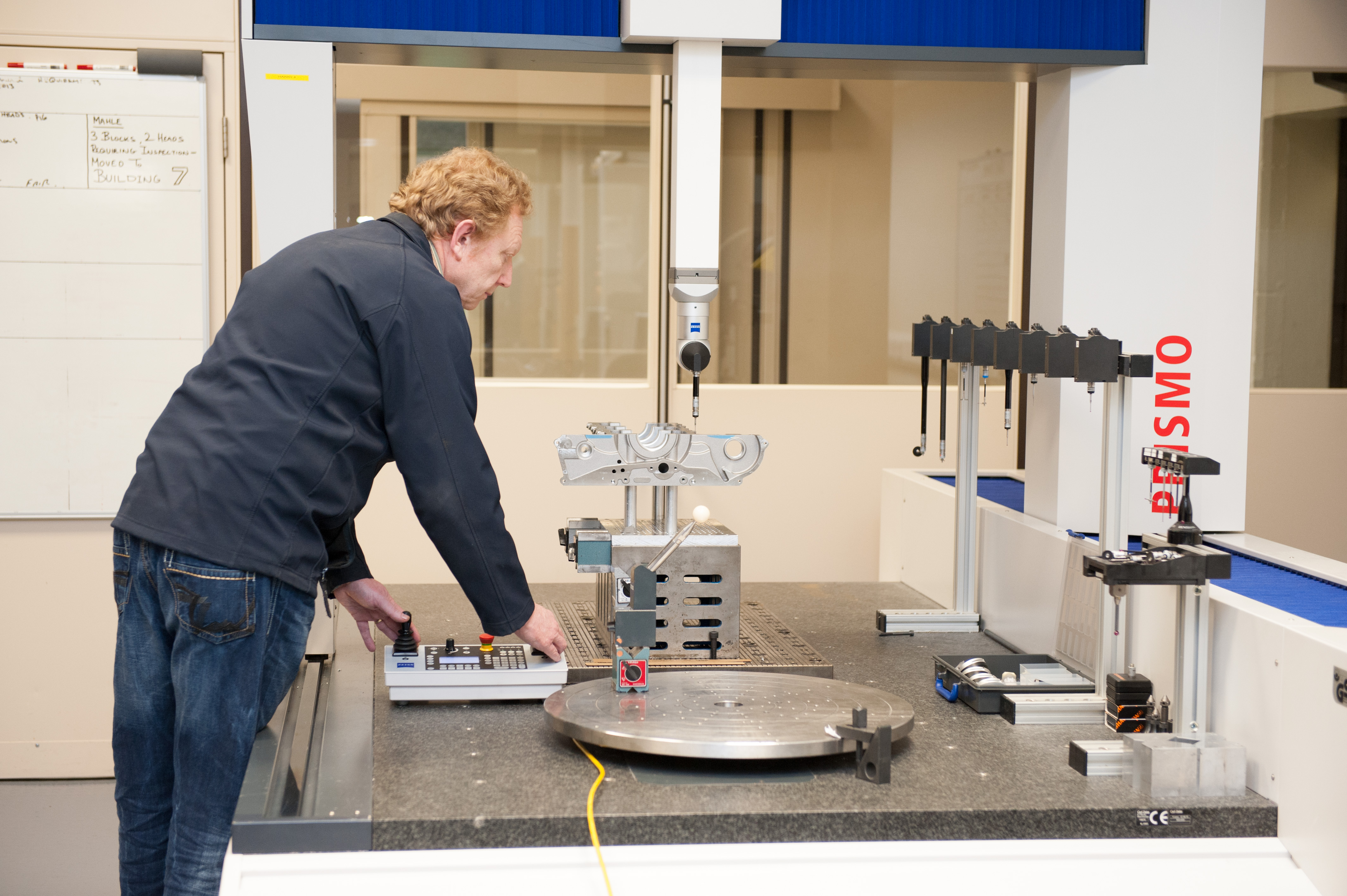 Ilmor has a well-equiped metrology suite