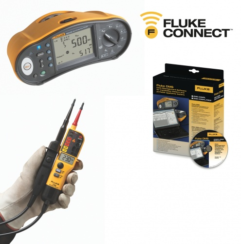 N0102fl - Fluke 1660 Series Multifunction Installation Tester Kit offers