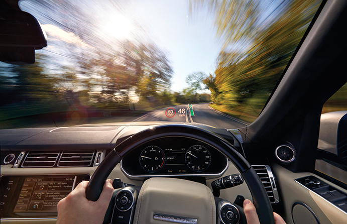 Changing Perceptions The Control And Display Technologies Shaping - Car display