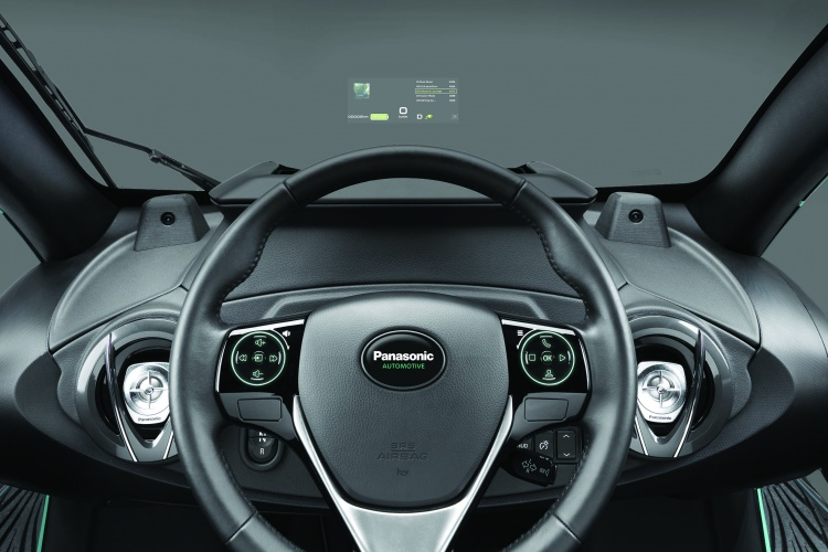 Panasonic's AR windshield HUD