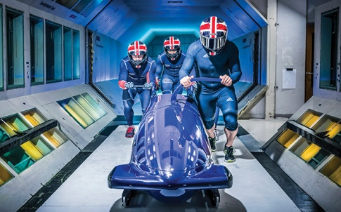 GB bobsleigh team
