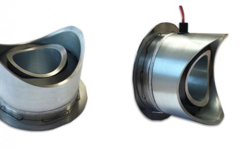 curved permanent magnet brake