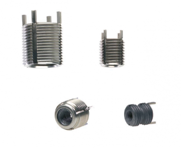 High-strength threaded inserts