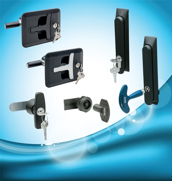IP65 security locking handles