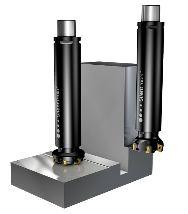 Milling adaptors offer improved damping characteristics