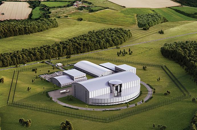 Rolls-Royce's SMR-based power station
