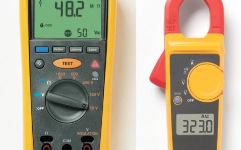 Fluke 1507 Insulation Tester plus free Fluke 323 Clamp Meter