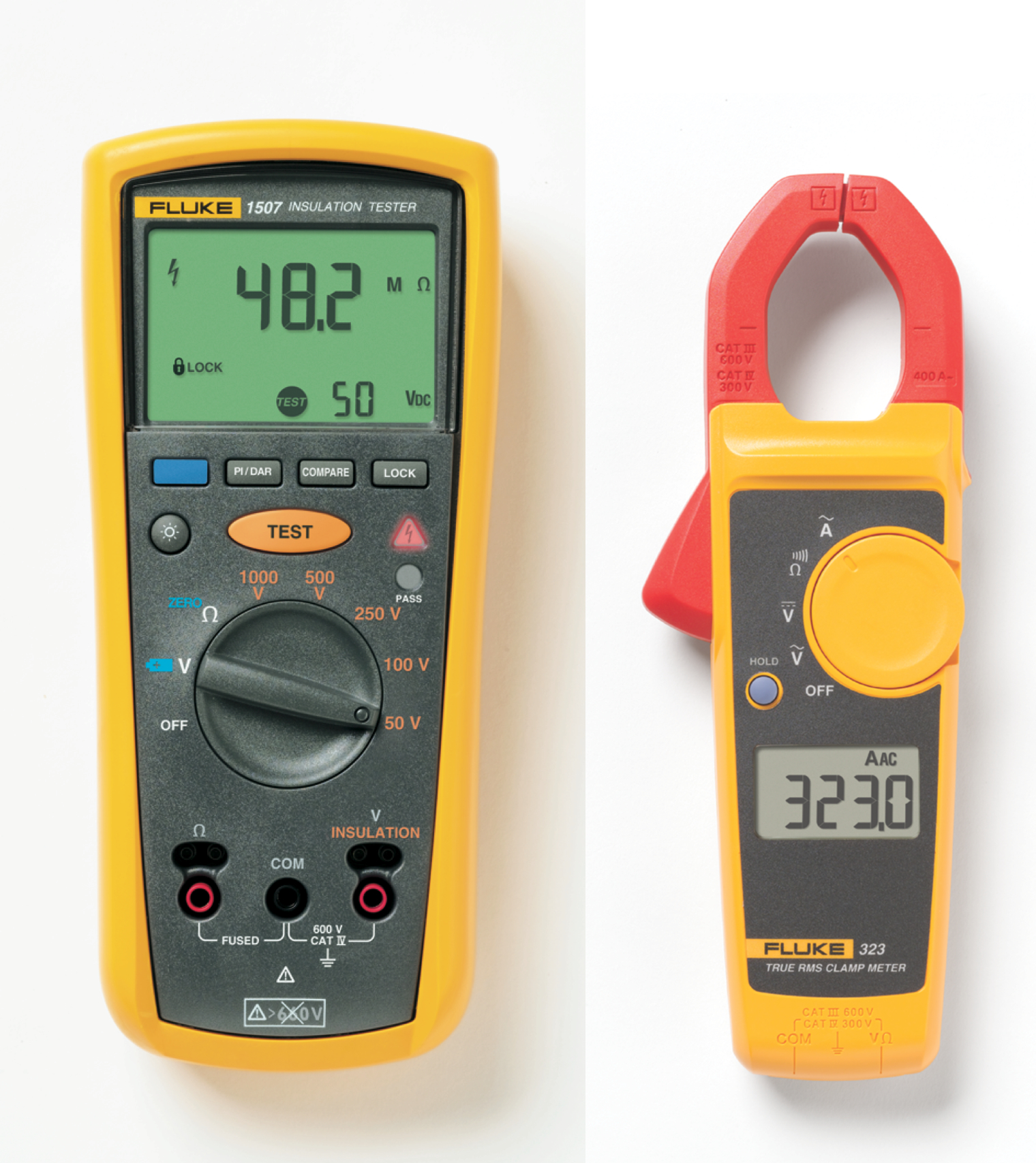 Meter Fluke Networks : Free clamp meter with insulation tester the engineer