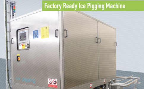 AQL500 factory-ready ice-pigging machine
