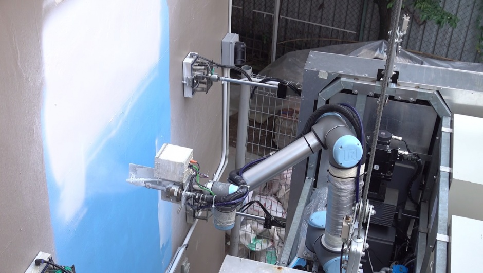 climbing robot cleans and paints high rise buildings the engineer