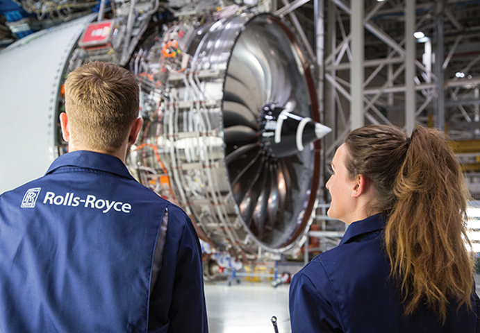 Rolls-Royce employees