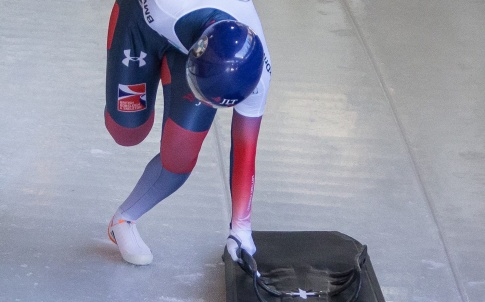 British Skeleton team