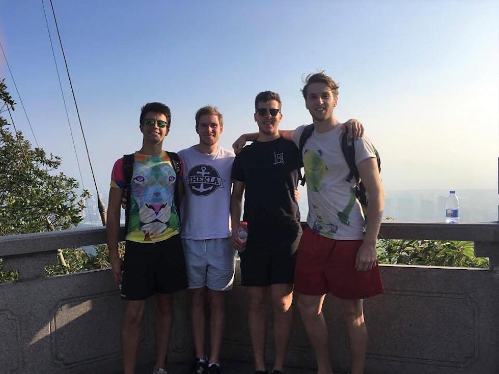 Meet the team (left-to-right): Ed , Glen, Jack, Alex