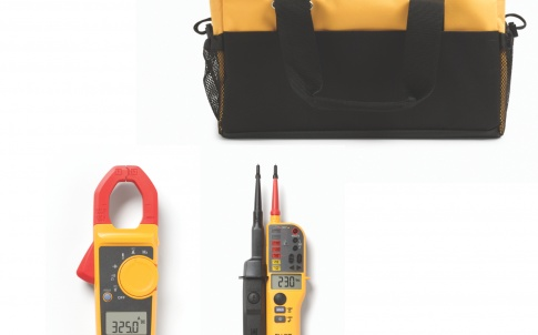 lamp meter and two-pole tester kit