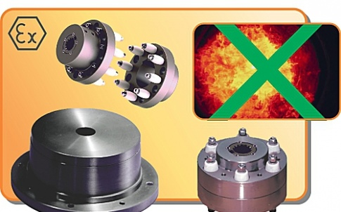 ATEX-certificated bellhousings and couplings