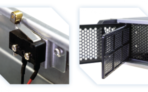 rack-mount computer for secured applications