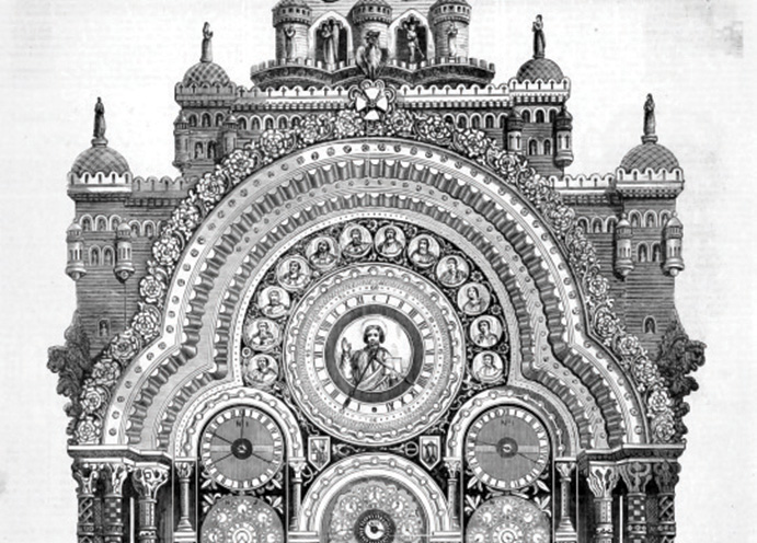 Auguste Vérité's astronomical clock