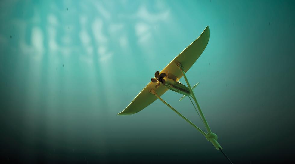 minesto gain consent  deep green tidal energy power plant  engineer  engineer