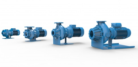 Screw-channel centrifugal pumps