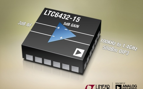 wideband fully differential amplifier with 15dB gain