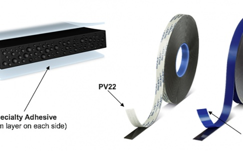 New three-layer acrylic foam tape