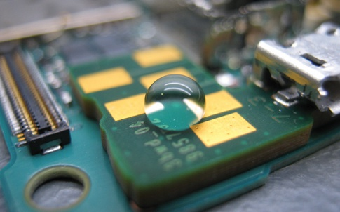 coating on electronics