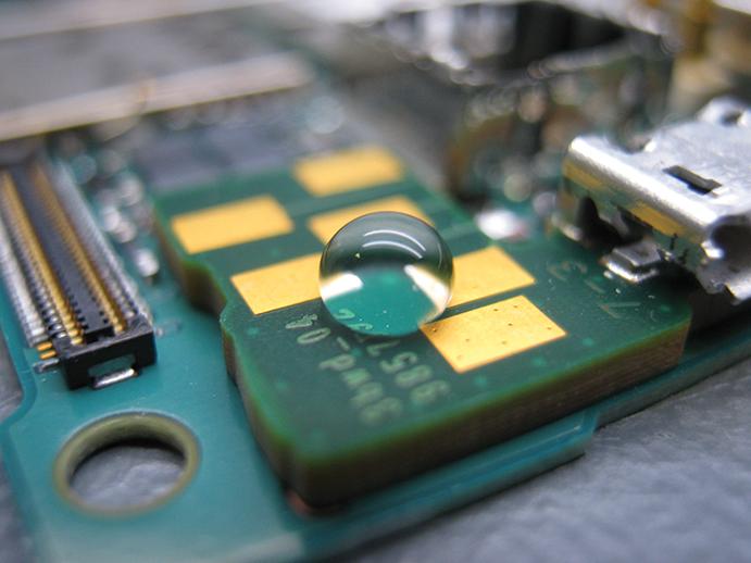 coating on electronics