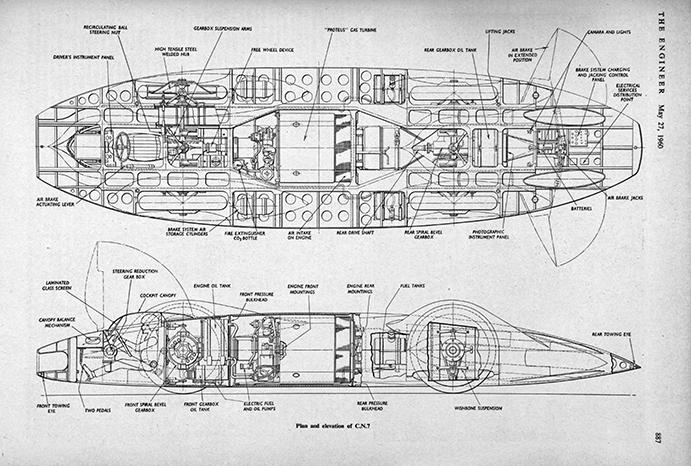 May 1960: Donald Campbell\'s legendary Bluebird car - The Engineer ...