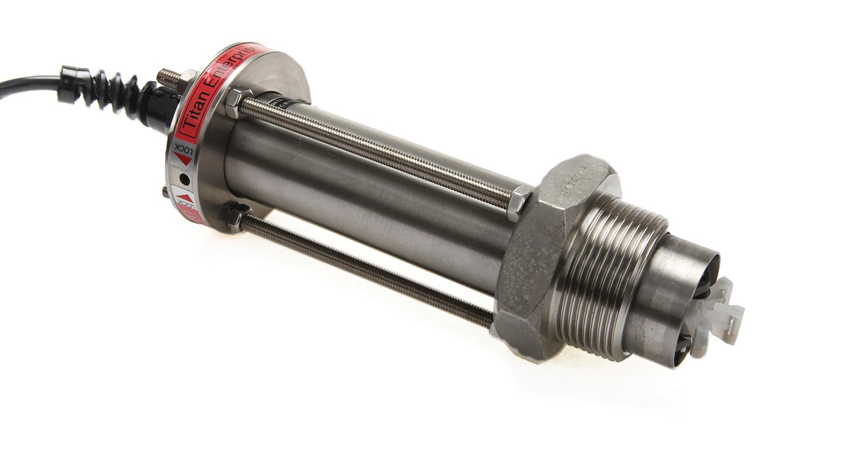 Insertion turbine flowmeters