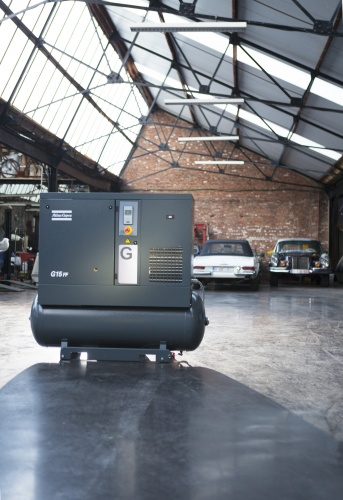 Atlas Copco g series scroll compressor