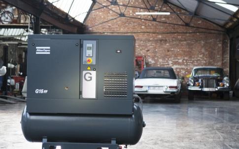 Atlas Copco g series scroll compressor