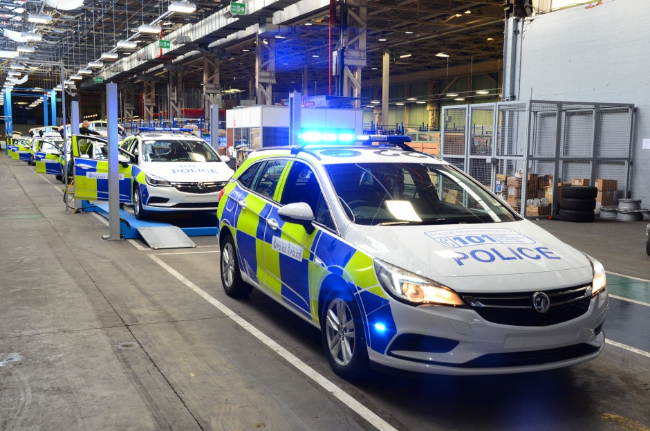 inside vauxhall s police car factory the engineer the. Black Bedroom Furniture Sets. Home Design Ideas