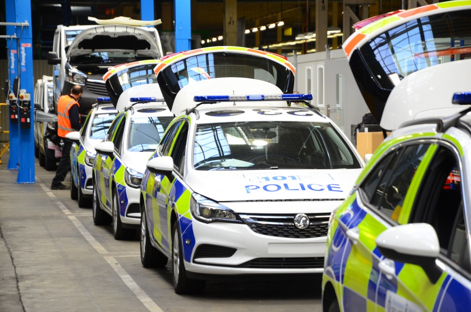Inside Vauxhall's police car factory | The Engineer The Engineer