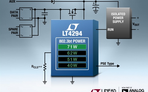 Powered Device (PD) interface controller