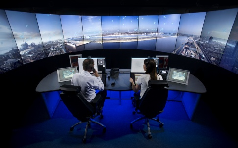 London City Airport Control Tower