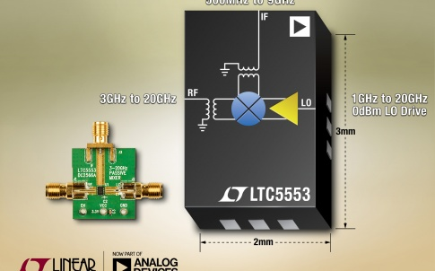 Ultra-wideband 3GHz to 20GHz mixer