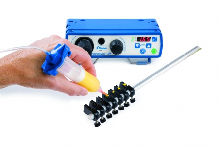 Precision fluid dispensing systems and accessories