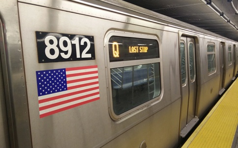 Second Avenue Subway train