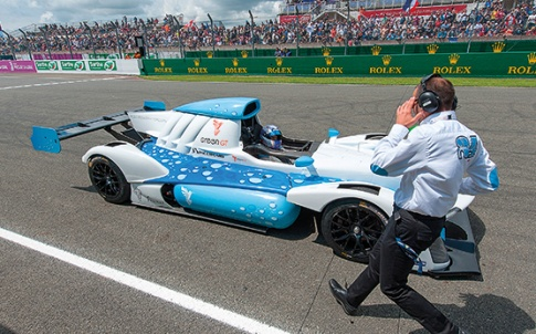 Green GT's hydrogen-powered racing car